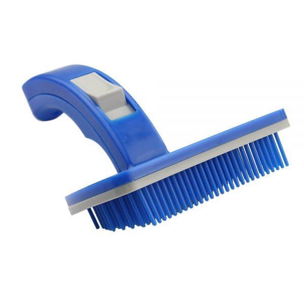 Dog Brush Blue