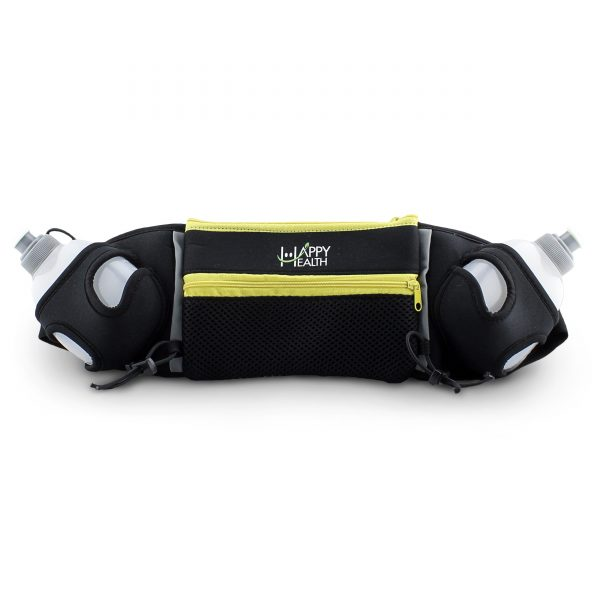 Dog Lover Hydration Belt Yellow