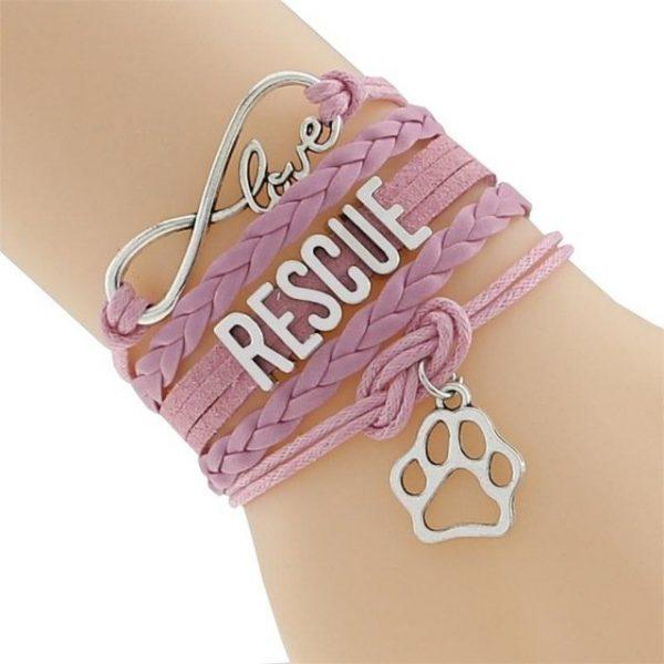 Inifinity Bracelet Pink