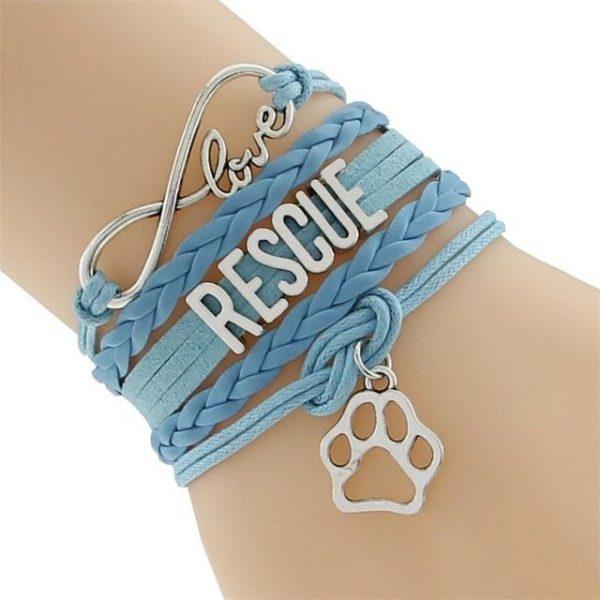 Infinity Bracelet Blue
