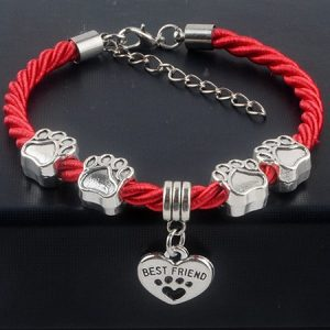 Dog Lover Bracelet with chamrs